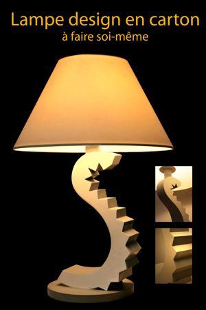 lampe design en carton. Black Bedroom Furniture Sets. Home Design Ideas