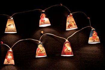 Lampion guirlande d coration et lampe de noel - Fabriquer une guirlande electrique ...
