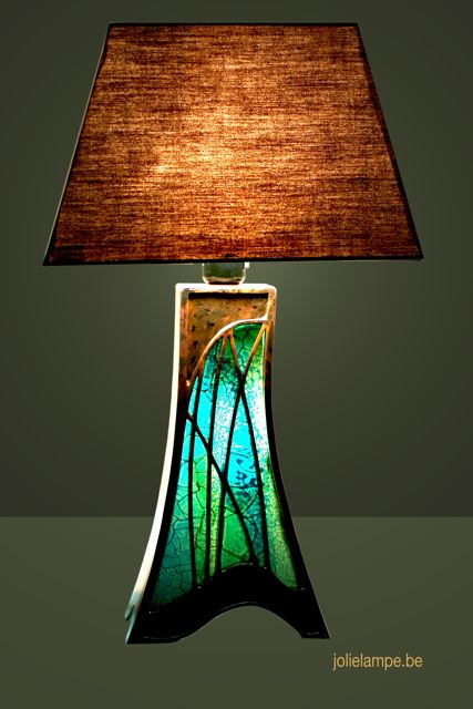 make to cardboard glass with lamp a stained paper documentation how