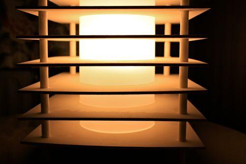 Lampe cubique design en carton faire soi m me - Lampe a faire soi meme ...